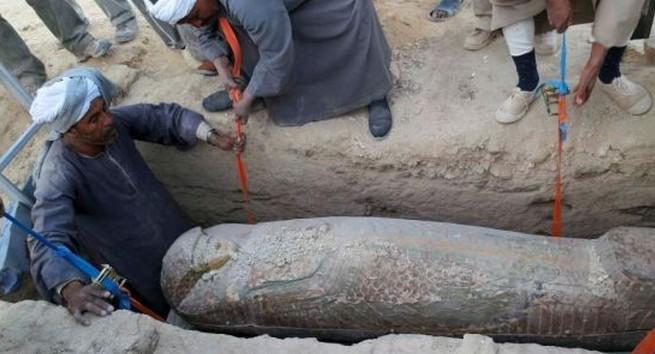 埃及出土3600年前木石棺