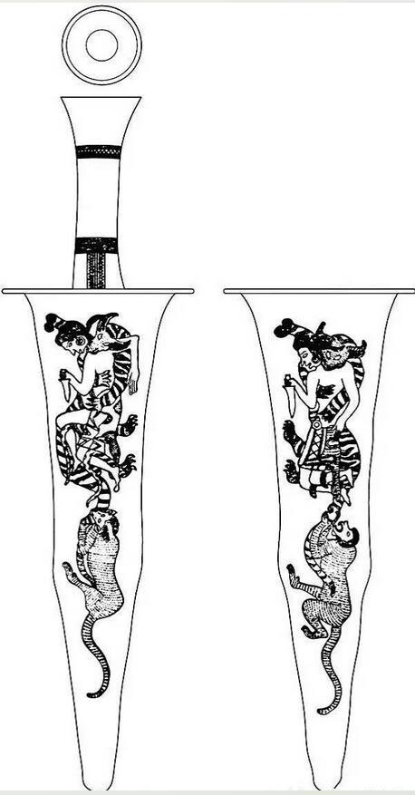 动物造型杯子画