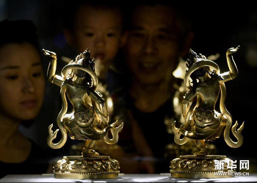 《汉风藏韵—中国古代金铜佛像艺术特展》在浙江开幕
