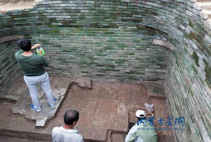 内蒙古通辽市开鲁县新发现一座辽代琉璃砖贵族墓