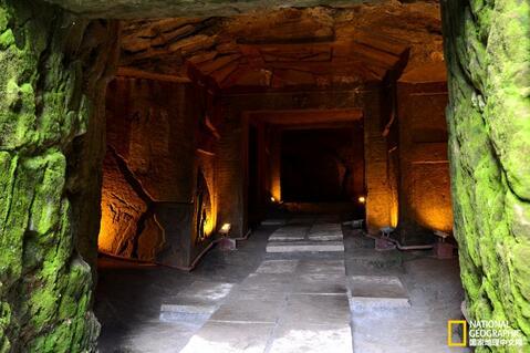 古代大型墓结构图片